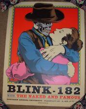 BLINK 182 concert gig poster print FLAGSTAFF 4-19-17 2017 ian williams
