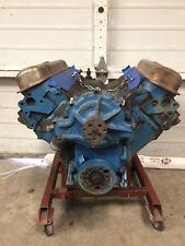 400 Pontiac engine core, slightly altered