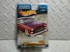 Hot Wheels Cruisin America Gold '59 Cadillac w/Real Riders