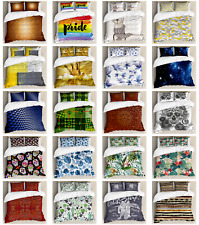Ambesonne Pillow Shams Bedding Set Duvet Cover Set with Queen Twin King Sizes