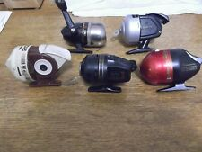 Spincast Fishing Reels Daiwa Shakespeare Silstar Sportfisher ALL WORKING Lot of
