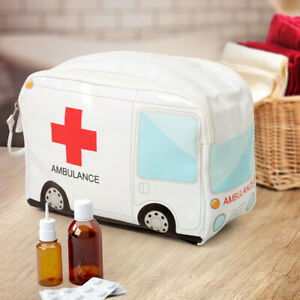Krankenwagen Reiseapotheke Medikamenten Tasche Erste Hilfe Beutel Kulturbeutel