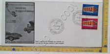 Storia postale - Italia 1969 - Rassegna automobile V. De' Coronari - auto