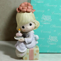 Precious Moments Figurine 120113 ln box Wishing You The Sweetest Birthday