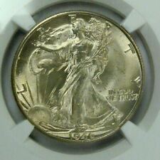 1946 D MS64 WALKING LIBERTY HALF DOLLAR NGC GRADED MS64
