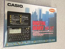 Casio SF-A7 Digital Diary 32kb 3-Line LCD Calculator MEMO Directory SECRET Alarm