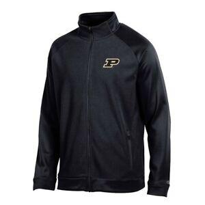 """Purdue Boilermakers NCAA Champion Men's """"Achievement"""" Black Full Zip Jacket"""