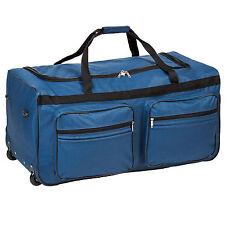 Sac de voyage XXL valise trolley légère sport bagage à roulettes 160 litres
