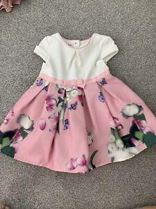 Baby Girl Ted Baker Dress 6-9 Months