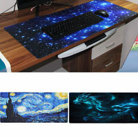 Gaming Mat Keyboard Desktop Mat Mouse Pad Laptop PC Computer Mouse Cool Large XL
