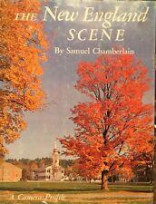 The New England Scene Samuel Chamberlain 1965 A Camera Profile, Book of Photos