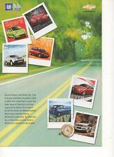 Chevrolet cars & SUV range (made in India) _2008 Prospekt / Brochure