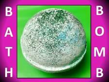 Large 4.5 Oz Bombshell Bath Bomb Fizzy Lush Shea Oil Lime Crime Bergamot Glitter
