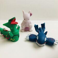 Mewtwo Rayquaza Kyogre 3 Pokemon Nintendo Bandai Toy Figures Legendary c