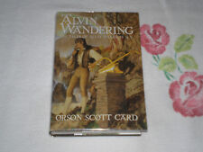 ALVIN WANDERING by ORSON SCOTT CARD   *Signed*  +BCE+ -FM-