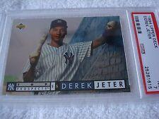 1994 Upper Deck Derek Jeter Rookie Top Prospects Greensboro #550 PSA 7