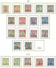 Iceland stamps 1920 collection of 20 Classic stamps Cat Value $200
