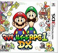 USED Nintendo 3DS Mario & Luigi RPG1 DX 37833 JAPAN IMPORT