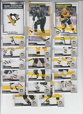 20/21 OPC Pittsburgh Penguins Team Set w/RC + Inserts - Crosby Jagr Angello RC +