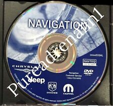 03 04 05 2006 2007 DODGE CARAVAN SPORT SXT RB1 NAVIGATION MAP DISC CD DVD 033AL