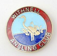 Vintage Enamel Withnell Angling Association Club Pin Badge - Fishing  Lancashire
