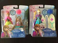 Disney Anna and Elsa Magiclip Princess dolls