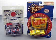 Earnhardt Nilla Wafers Autographed Hood Series & Suzuka Japan ACDelco Car 1996