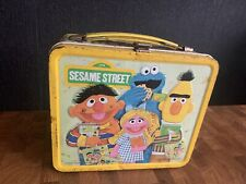 Vintage 1979 Sesame Street Metal Lunch Box Collectable