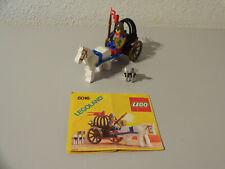 ( i8 ) LEGO 6016 Waffenwagen Ritterburg MIT BA 100% KOMPLETT GEBRAUCHT