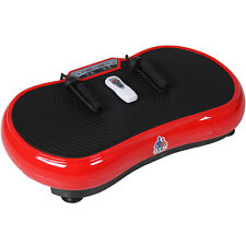 REBOXED Slim Crazy Fit Vibration Plate Weight Loss Toning Exercise + Remote Red