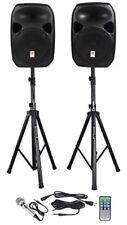 Equipo De Sonido Profesional Altavoz Sistema Fiestas Bocinas Bafles Monitores