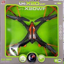 LH-X20WF - WIFI DRONE - AERIAL VEHICAL - 4CH REMOTE CONTROL QUADCOPTER
