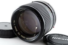 【AS IS】Canon New FD 85mm f1.8 Portait Prime Lens From Japan