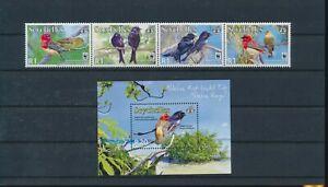 LO44324 Seychelles animals fauna flora birds fine lot MNH