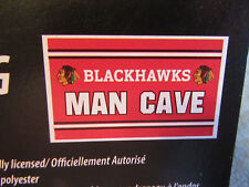 Chicago Blackhawks Man Cave Flag 3 x 5 ft NEW Toews Kane Stanley Cup