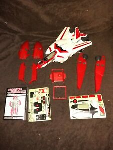 Vintage Transformers G1 Jetfire 1985 Adult Collector Almost Complete Manual Stic