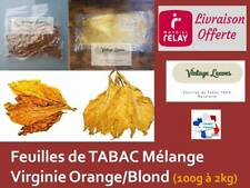 Feuilles de TABAC Virginie ORANGE / Virginie BLOND
