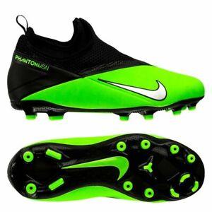 Nike Phantom VSN Vision Aca2 DF FG 2020 Soccer Shoes Cleats Green Blk Kids Youth