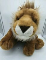 """A Very Soft 16"""" African Lion """"Endangered Species"""" By Keel Toys"""