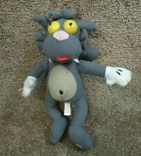 "11"" SCRATCHY CAT Itchy & Scratchy Show The Simpsons Plush CAT TOY FACTORY"