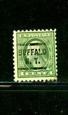 """US Scott # 462 - Used - Precancelled """"Buffalo, NY"""""""