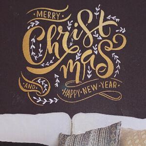 "Room Mates CHRISTMAS Wall Decals 22"" X 23.2"" / Peel & Stick / No Residue / NIB"