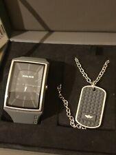 Police Uhr Und Kette In BOX SET NEU