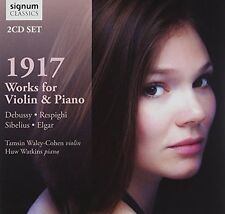 Tamsin WaleyCohen - 1917 Works for Violin and Piano [CD]