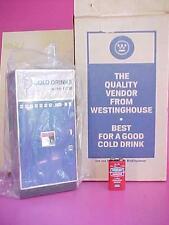 LNiB 1960's 9 Westinghouse Transistor Vending Cold Drink Machine Radio WORKS