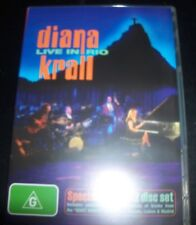 Diana Krall Live In Rio Special Edition (Aust All Region) 2 DVD – Like New