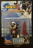 New Sonic X Space Fighters Action Figure Shadow Hedgehog Toy Island Super Rare