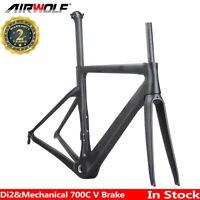 T1000 Full Carbon Fiber Road Bike Frame 48/51/54/56 Bicycle Cycling Frameset
