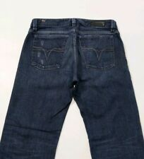 Diesel Levan Mens Jeans Distressed Oil Stained  Regular Fit 008BI W33 L30 RP£140