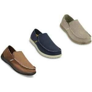 Crocs Santa Cruz Mens Canvas Shoes in Various Colours and Sizes